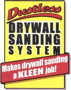 Dustless Drywall Sander